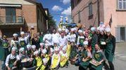 La sfilata del rione Piazza, terzo con 106 punti (foto Cappelli)