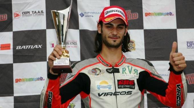 Emanuele Cassani, pilota morto in gara a Misano nel 2014