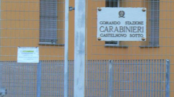 La caserma di Castelnovo Sotto