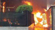 I vigili del fuoco sono all'opera (foto Zeppilli)