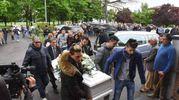 I funerali si sono tenuti nella chiesa di San Giuseppe (foto Artioli)