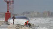 Rimini, i soccorsi (Foto Migliorini)