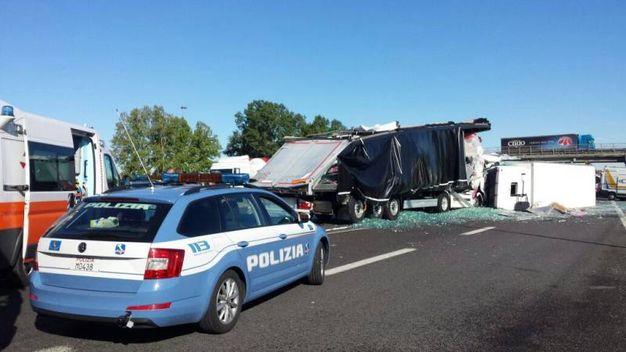 Incidente in A1 a Modena