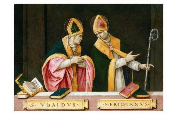 Filippino Lippi - I santi Ubaldo e Frediano - (Prato 1474 circa - Firenze 1504)