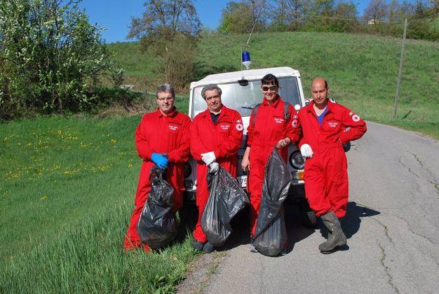Volontari a Toano