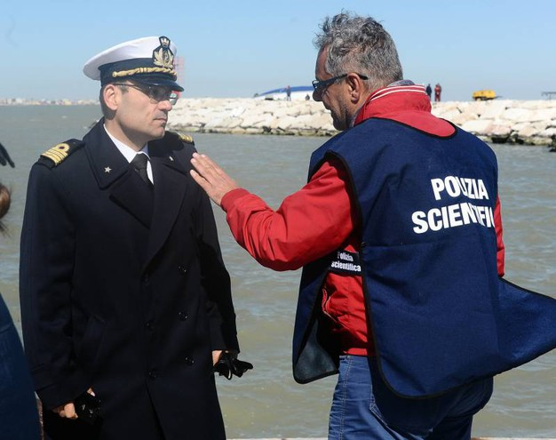 Sul posto anche la polizia scientifica (Migliorini)