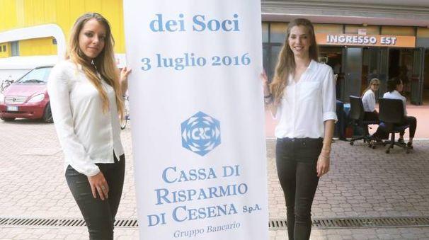 Cassa di Risparmio di Cesena, l'assemblea dei soci del luglio scorso (Ravaglia)