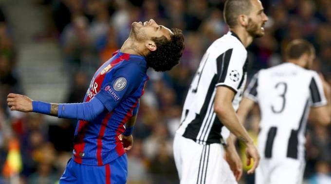 La disperazione di Neymar