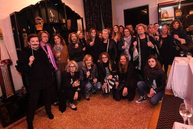 L'Aidda, associazione di impreditrici donne e dirigenti d'azienda, alla mostra Dalì Experience a Palazzo Belloni (foto Schicchi)