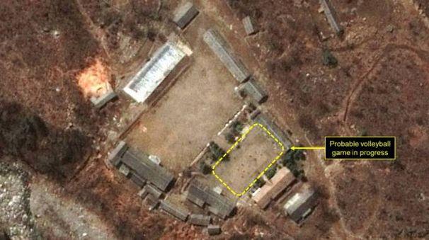 Una foto satellitare della base nordcoreana di Pungge-ri  (da 38North)