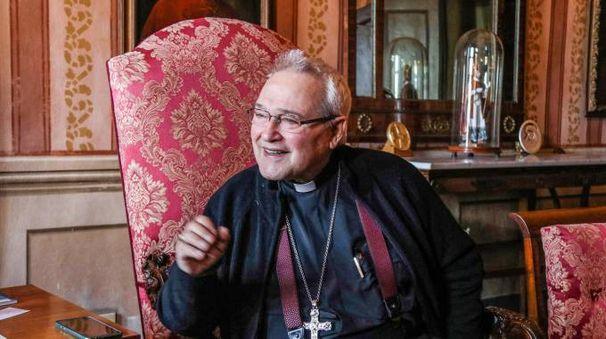 L'arcivescovo uscente di Ferarra-Comacchio Luigi Negri (foto di Andrea Samaritani)