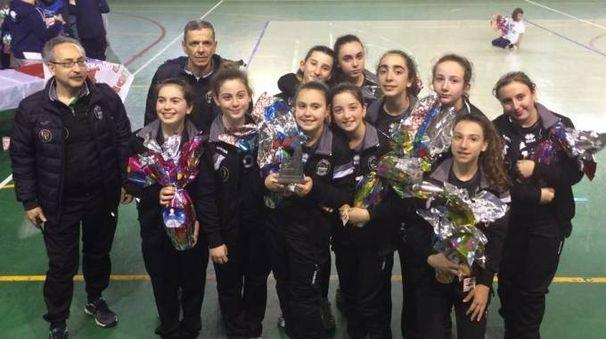 La formazione under 13 dell'Aglianese fa festa a Montelupo Fiorentino