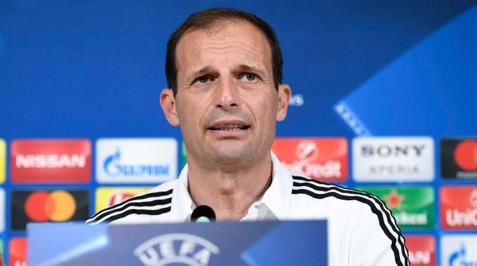 Champions League 2017, Allegri (LaPresse)