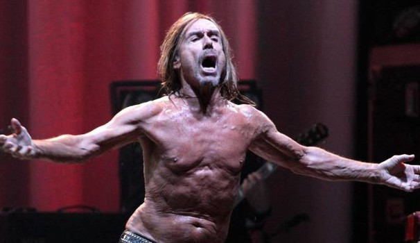 Iggy Pop in una performance del 2016 (Ansa)