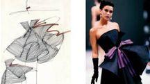 Schizzi di moda gi Gianfranco Ferrè
