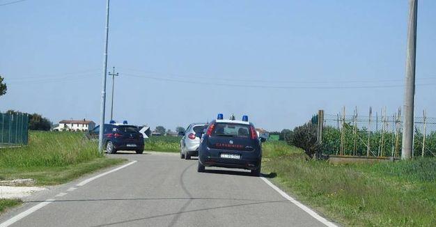 Si cerca Igor anche nella zona di Borgo Serraglio di Conselice (Foto Scardovi)