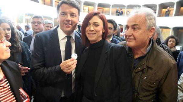 Matteo Renzi con Alice Pignatti (Foto Ravaglia)