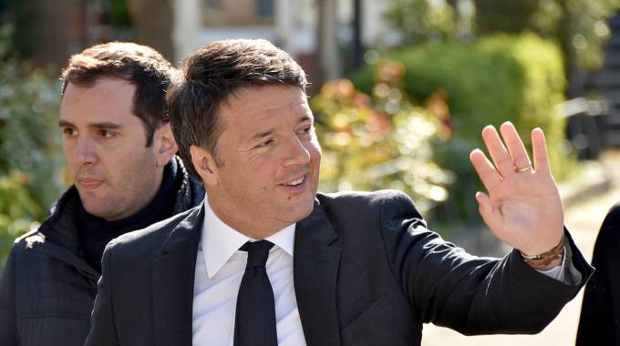 L'ex premier Matteo Renzi (Foto Fantini)