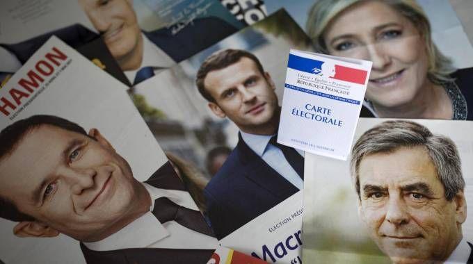 Elezioni in Francia, domenica il primo turno (Ansa)