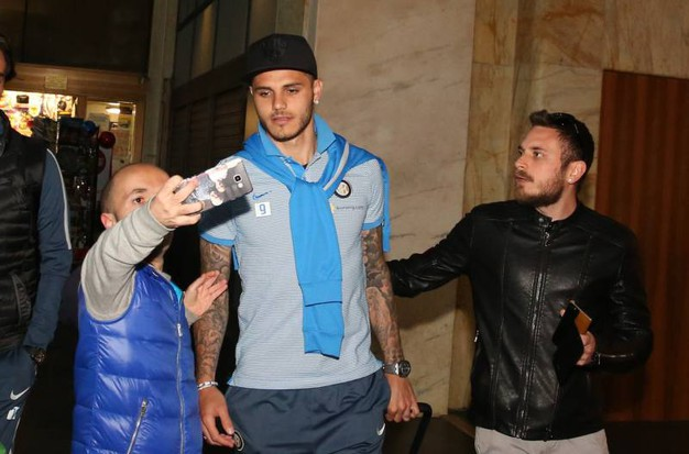 L'arrivo dell'Inter a Firenze (Germogli)