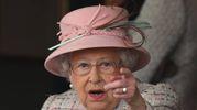 La regina alla corsa ippica (Lapresse)