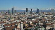 Una veduta di Milano (Newpress)