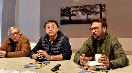 Massimo Bertoli, Riccardo Rossato e Alberto Lenzi (Foto Novi)