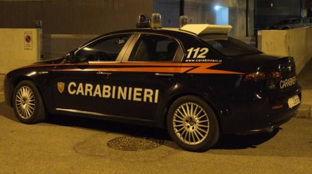 Sul posto i carabinieri di Meldola