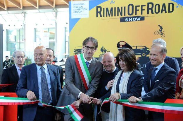 L'inaugurazione (foto Petrangeli)