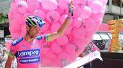 Michele Scarponi al Giro d'Italia del 2013 (LaPresse)