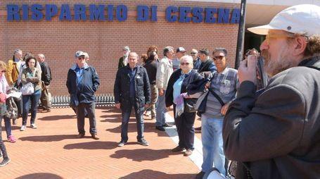 Cassa di risparmio di Cesena, la protesta degli azionisti