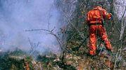 IMPEGNO Un'azione contro il fuoco a Piuro, in Valchiavenna
