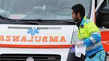 L'uomo è stato trasferito d'urgenza in ambulanza all'ospedale di Torrette (archivio)