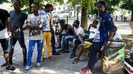 Profughi a Milano