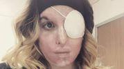 Il selfie pubblicato da Gessica Notaro sul suo profilo Instagram