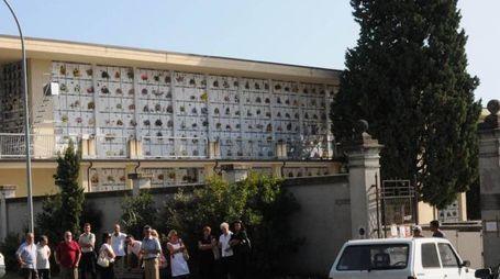 Un'immagine del cimitero di Turano