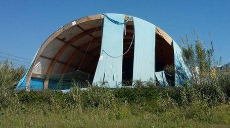Grottammare, ex Sportland devastato dai vandali