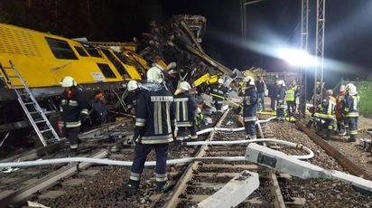 Inicdente ferroviario a Bressanone (Ansa)