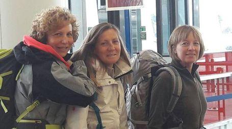 Brunella Devoti, Cristina Lorenzi, e Giulia Grazzini,
