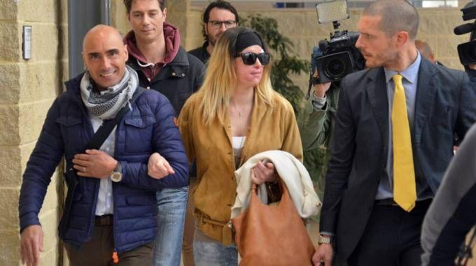 Gessica Notaro si reca in tribunale (foto Manuel Migliorini)