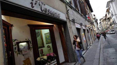 L'esterno del ristorante (New Press Photo)