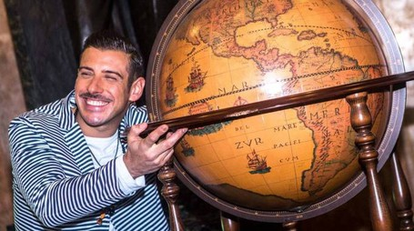 Francesco Gabbani presenta il suo 'Magellano' (Olycom)