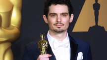 Damien Chazelle con l'Oscar di 'La La LAnd' - ZUMA - RED CARPET - ZUMA WIRE ALOWE