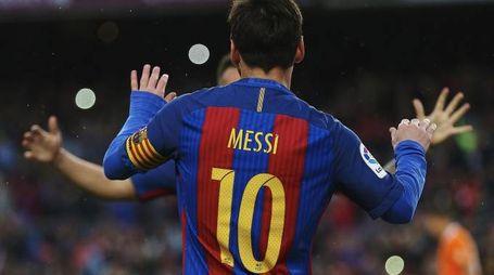 Esultanza Leo Messi