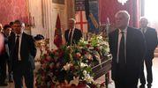 Il picchetto d'onore per Guazzaloca: con Galletti, Foschini, Salizzoni e Raisi (Schicchi)