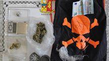 Uno dei recenti sequestri di droga fatti dalla polizia
