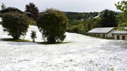 Previsioni meteo, instabilità il Primo Maggio. Nella foto neve nel Varesotto (Newpresse)