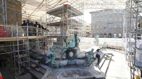 La fontana del Nettuno (Umberto Visintini / New Press Photo)