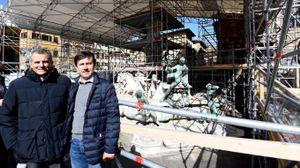Ferruccio Ferragamo con Dario Nardella