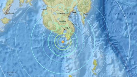 Terremoto nelle Filippine (da Usgs)